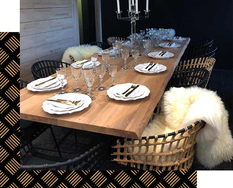 Restaurant - La table à Rocca - Bouc-Bel-Air